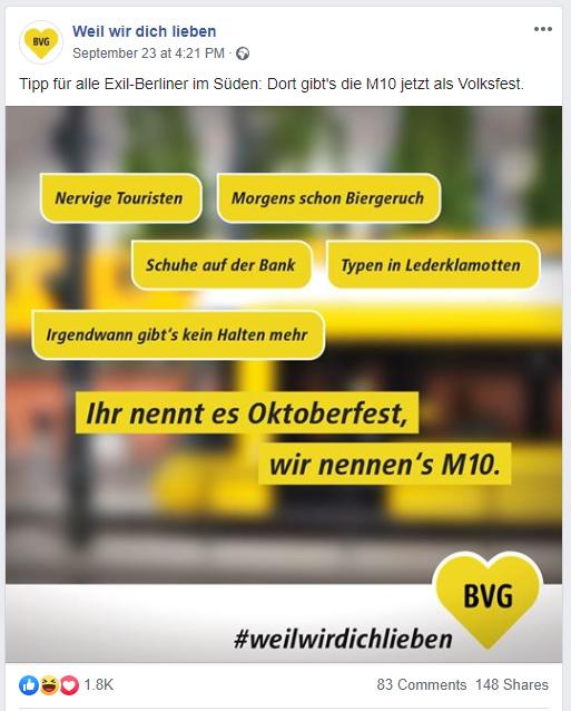 M10 Berliner Verkehrsbetriebe